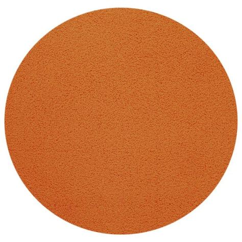 solid color rugs maxy home orange shag area rug single solid color 5