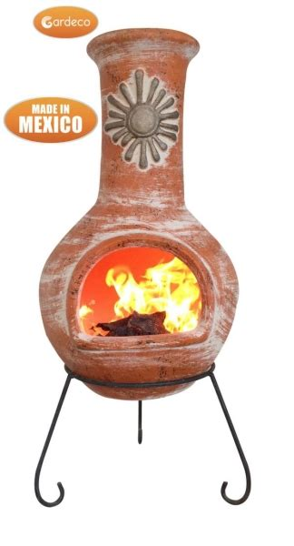 Large Mexican Chiminea Sol X Large Mexican Chiminea In Orange 163 169 99