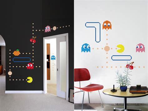 pacman wall stickers blik pac lives wall decal series gadgetsin