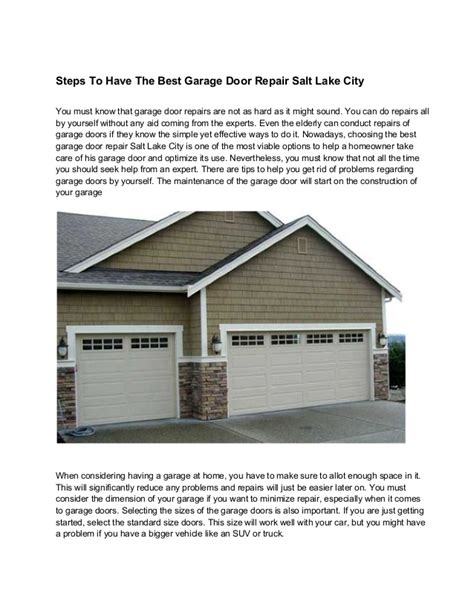 Garage Door Repair Salt Lake City Lds Conference Center Garage Door Repair Salt Lake City