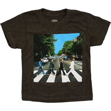 The Beatles Tees T Shirt beatles road toddler t shirt liquid blue