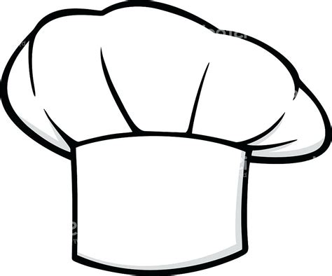 template printable chef hat template this paper