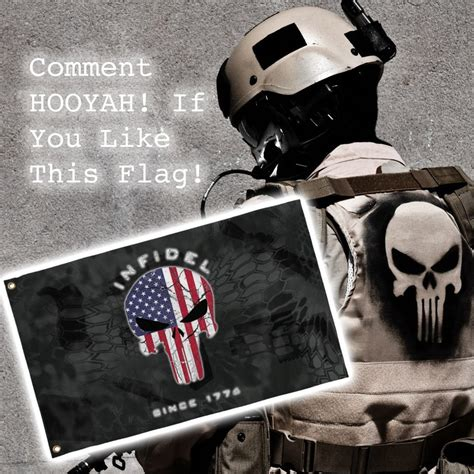 Wooowwexclusive Custom The Punisher 1 Limited Edition limited edition 3x5 exclusive american flag punisher infidel flag 50 while supplies last
