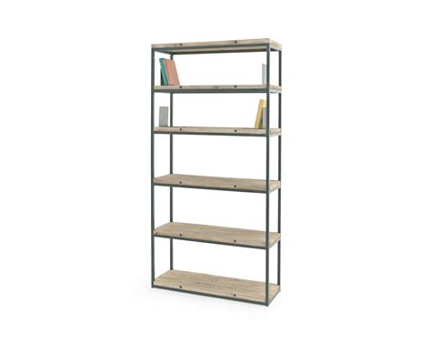 hohe regale solid wood shelving unit high five loaf