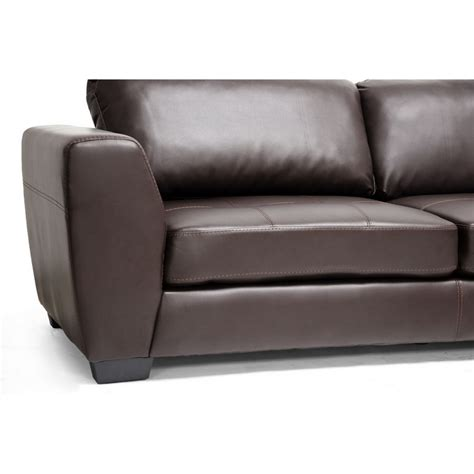 modern sectional sofa with chaise orland brown leather modern sectional sofa set with right