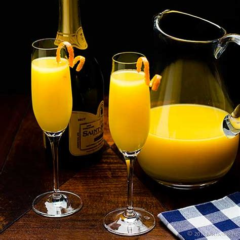 kitchen riffs the mimosa cocktail
