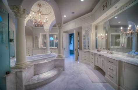 Story Bathroom by Mediterranean Mansion In Houston Tx With Amazing Foyer Homes Of The Rich The 1 Real Estate