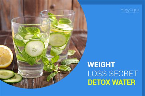 How To Detox From Alone by Weight Loss Secret Detox Water Heycare