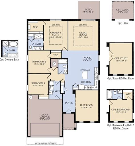 pulte homes floor plans superb pulte home plans small medium houses