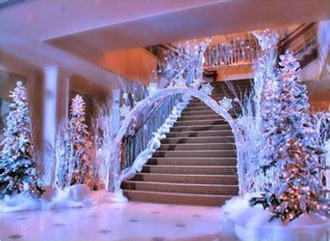 winter formal decorations frozen festivities winter themed quincea 241 era