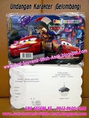 Kartu Undangan Karakter Kece jual souvenir bingkisan hadiah kado ulang tahun anak dengan harga grosir di jamin murah