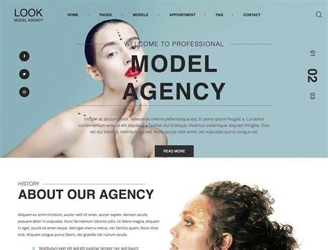10 Best Model Agency Wordpress Themes 2018 Athemes Model Agency Template