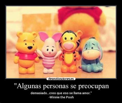 imagenes de amistad de winnie pooh con frases frases de winnie de pooh de amor imagui