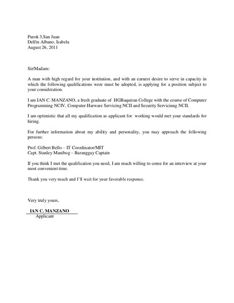application letter for ojt computer programming application letter for ojt computer programming