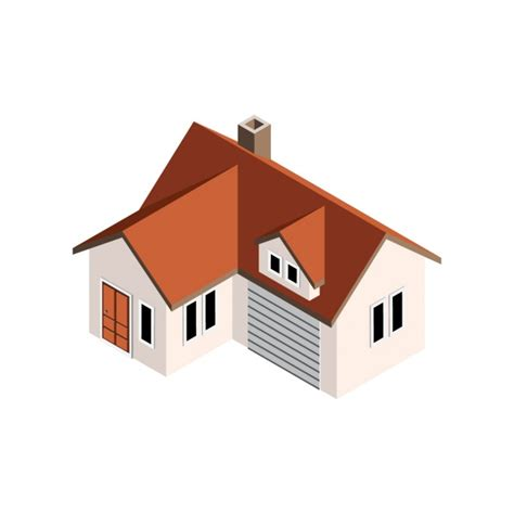 Home Design Vector Perspective House Design Vector Free