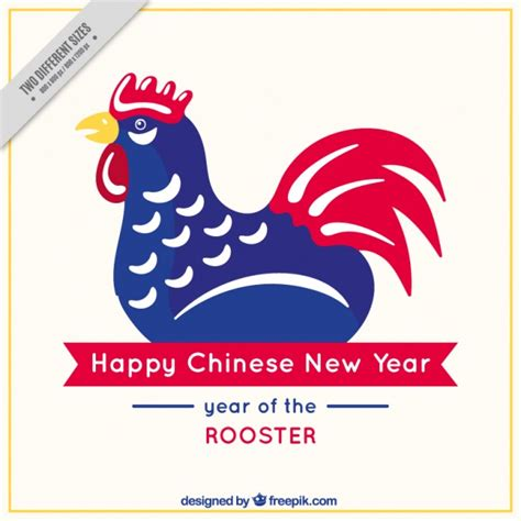 new year rooster description hahn vectors photos and psd files free