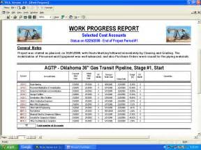 Wip Report Sample Work Progress Report Template Pictures To Pin On Pinterest