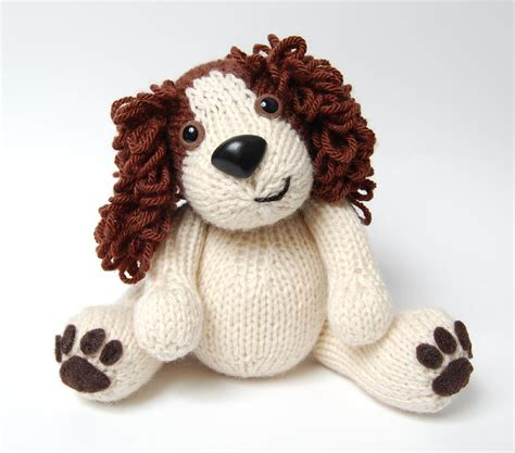 knitting pattern toy dog free editor s choice daniel the spaniel dog knitting pattern