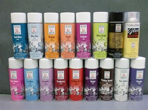 tanday design master floral spray paint in 27 colors by tanday