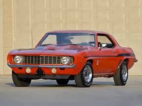 retro cars chevrolet camaro yenko sc 427 1969