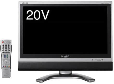Tv Aquos 22 Inch sharp aquos lc 20ex1 s 20 inch lcd tv