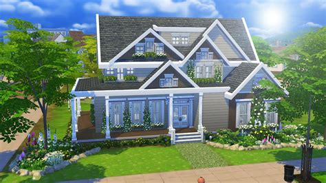 4 family homes the sims 4 speed build suburban home part 1 youtube
