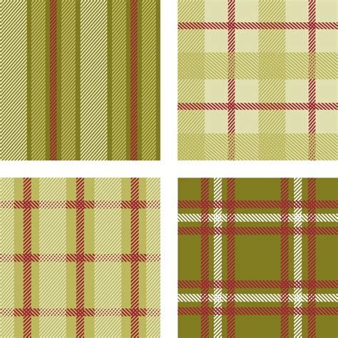 plaid pattern font fabric plaid pattern vector material 06 vector pattern