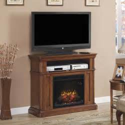 Corner Electric Fireplace Oakfield Wall Corner Electric Fireplace Media Center In Premium Pecan Birch 23de8202 P273