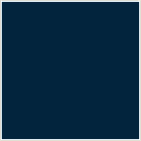 color code for midnight blue 02243c hex color rgb 2 36 60 blue daintree