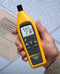 accurate comfort services fluke 971 temperature humidity meter