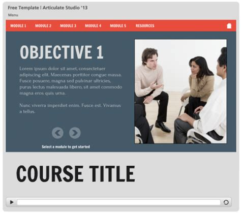 elearning powerpoint templates here are some free e learning templates to speed up your