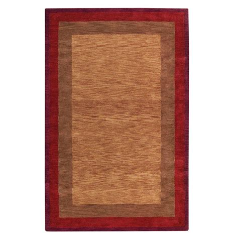 Karolus Area Rug with Home Decorators Collection Karolus Rust 8 Ft X 11 Ft Area Rug 3242250180 The Home Depot