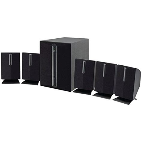 review gpx ht050b 5 1 channel home theater speaker