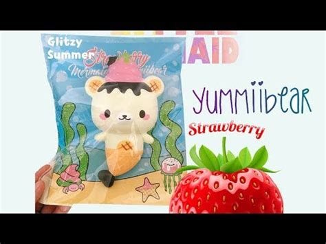 Squishy Strawberry By Yummiibear yummiibear with strawberry squishy