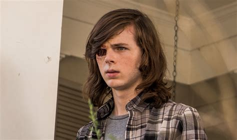 morgan grimes hairstyle the walking dead s chandler riggs talks tripwire