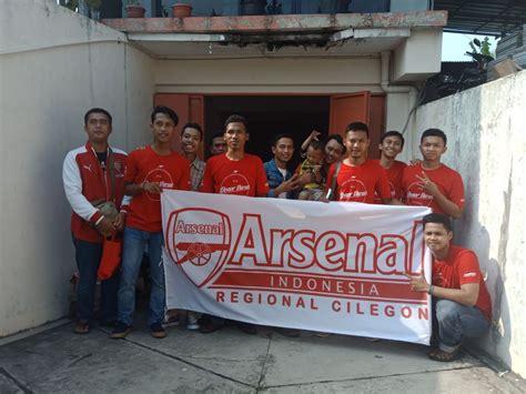 arsenal store indonesia baru berdiri di cilegon komunitas suporter arsenal gelar