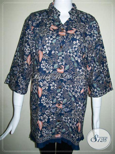 Baju Batik Elegan baju batik elegan motif bunga blus batik wanita aktif bahan berkwalitas bls423ct xl toko