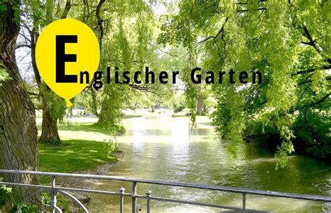 Englischer Garten München Karte by Das M 252 Nchen Abc E Wie Englischer Garten Mit Vergn 252