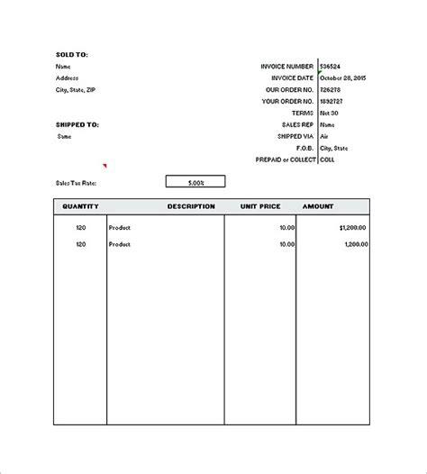 Generic Invoice Template Generic Invoice Template