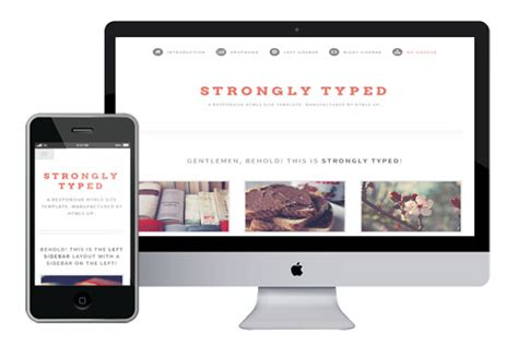templates responsive free stronglytyped responsive html5 template html5xcss3