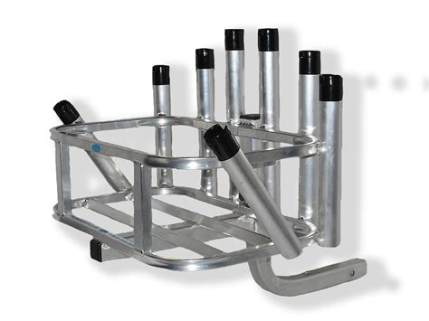 cpi designs rod rack iii holds a total of 8 fishing rods