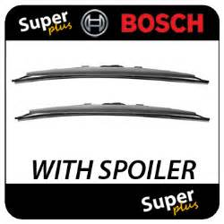 Renault Master Wiper Blades Renault Master 02 10 Bosch Spoiler Front Wiper Blades Ebay