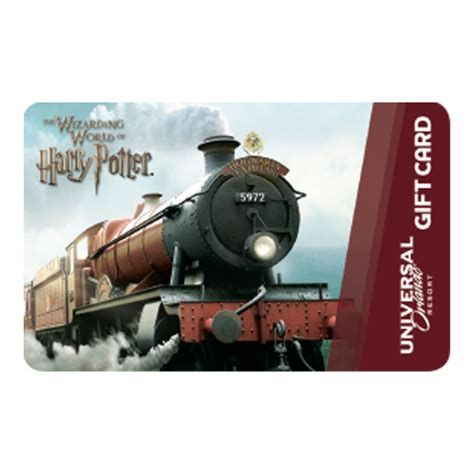 Gift Card Universal - your wdw store universal collectible gift card hogwarts express