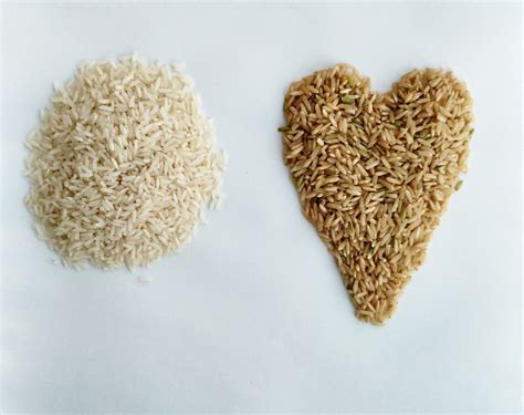 whole grain rice vs brown rice grains white rice vs brown rice hearty smarty