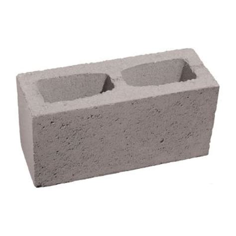 4 in x 8 in x 16 in gray concrete block 100005652 the