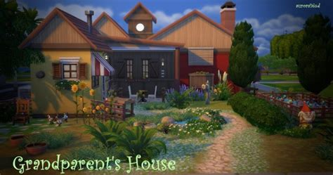 sims  homes grandparents house sims  downloads