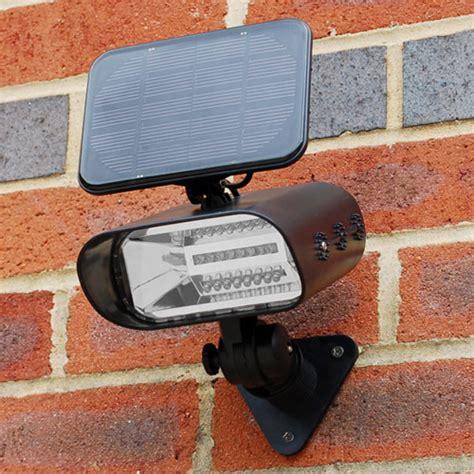 solar spot lights outdoor wall mount thea solar garden spot light envirogadget