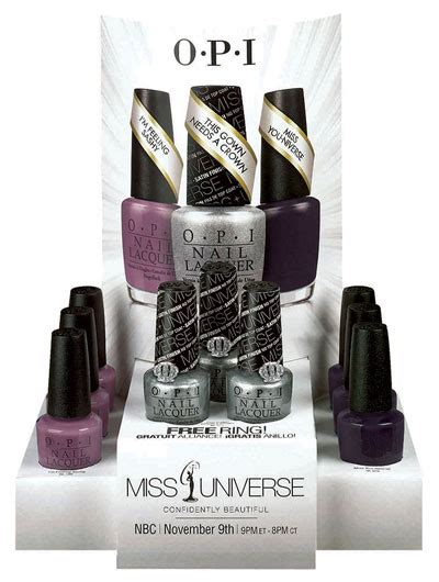 Opi Miss You Universe opi miss you niverse quot miss universe collection 2013 c