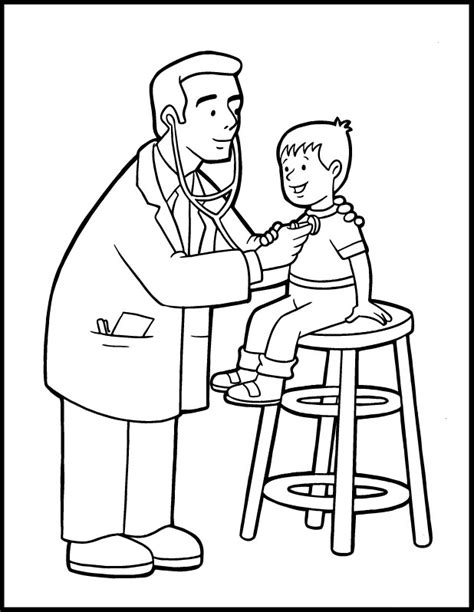 Preschool Community Helpers Coloring Pages Az Coloring Pages