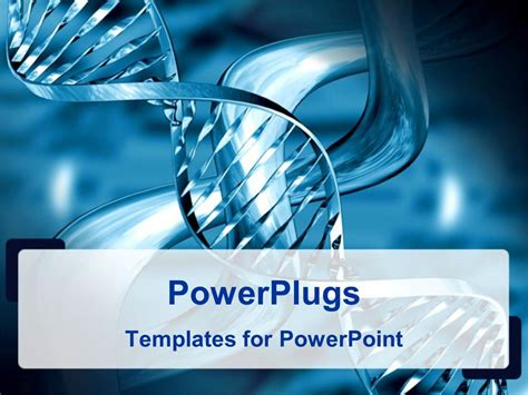 Powerpoint Template Medical Theme Representing Silvery Theme Powerpoint